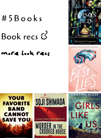 #5Books for the week ending 7 april 2019